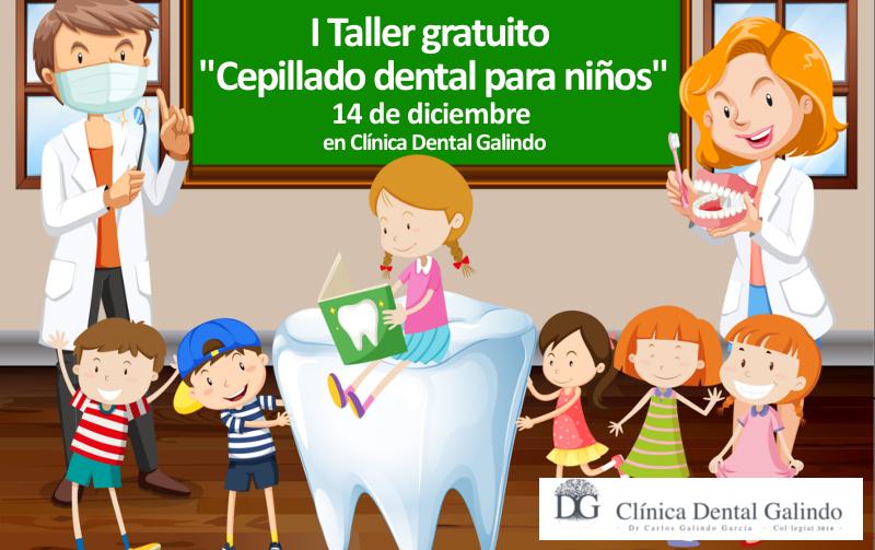 "I Taller gratuito ""cepillado dental para niños"""